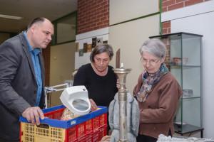 Christian Ingolf - Keramik Art Craft, Anette Spiegl - Bildhauerei Objektdesign Restaurierung, Ortweinschule, Barbara Frischmuth