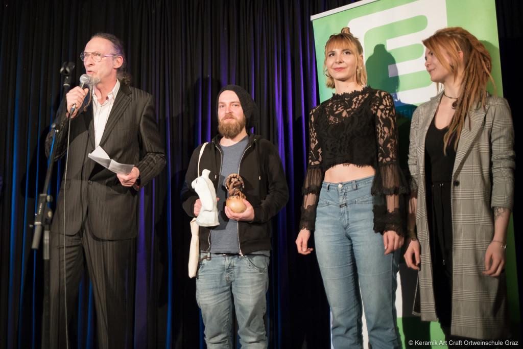 Von links: Simon Pichler, Micha Marx, Therese Krutzler und Michelle Rabensteiner