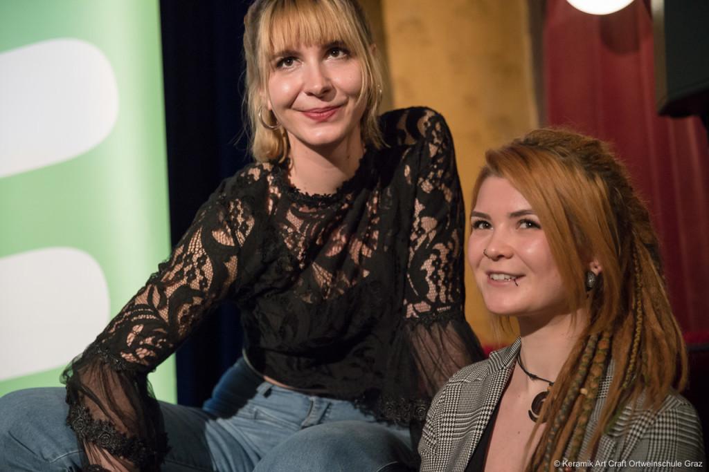 Therese Krutzler und Michelle Rabensteiner
