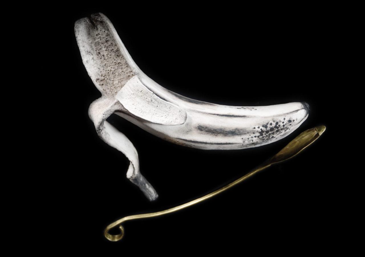 Bananebschale